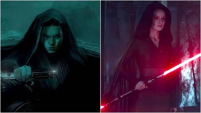 Star Wars: Lucasfilm comparte nuevos artworks y diseños de 'Dark Rey'