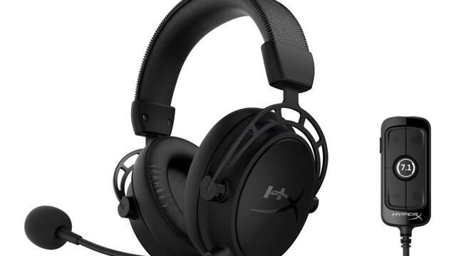 HyperX estrena sus nuevos auriculares 7.1, Cloud Alpha S Blackout