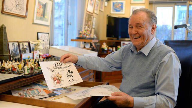 Fallece Albert Uderzo, creador e ilustrador de Astérix