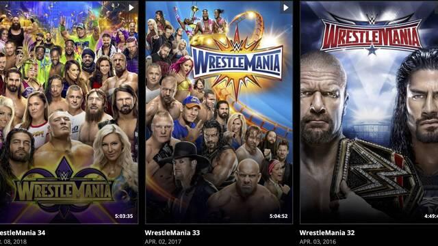 WWE ofrece su plataforma de streaming gratis durante la cuarentena de COVID-19