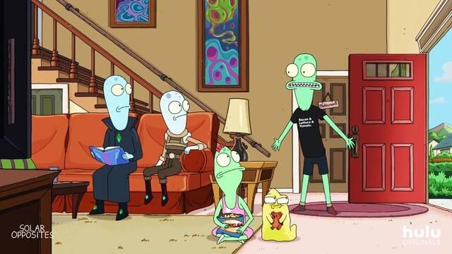 Solar Opposites, lo nuevo del creador de Rick y Morty, presenta su tráiler
