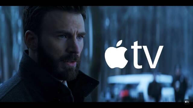 Chris Evans lo dará todo defendiendo a su hijo en la nueva serie de Apple