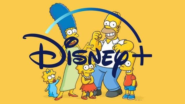 Disney+ llegará a España con más de 600 capítulos de Los Simpson