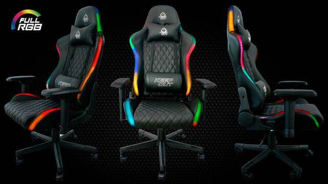 Keep Out lanza XSPRO-RGB, su silla para gamers plagada de iluminación RGB