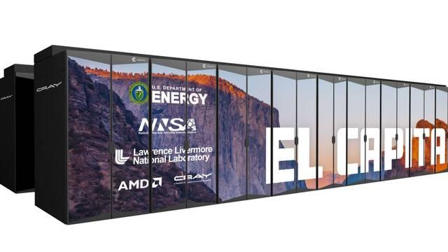 AMD dará vida a El Capitán, el súperordenador más potente del mundo con rendimiento de 2000 petaflops