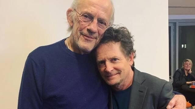 Michael J. Fox y Christopher Lloyd vuelven a reunirse para un evento benéfico