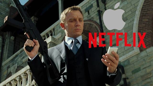 James Bond: 007 es el objetivo de las plataformas de streaming de Apple y Netflix