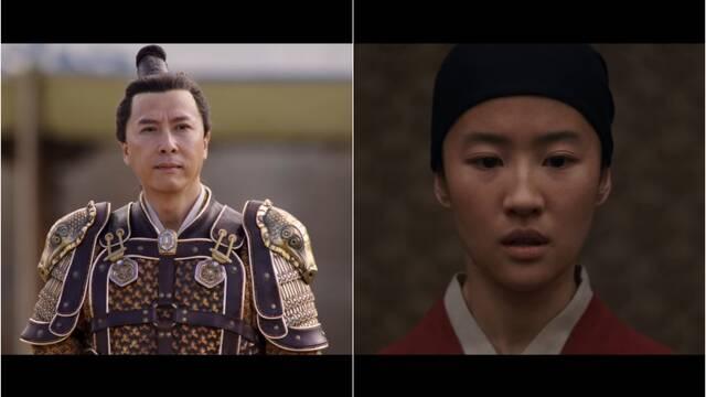 Mulan: Liu Yifei y Donnie Yen dominan el combate en un nuevo vídeo