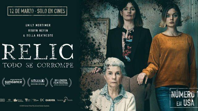 Selecta estrenará 'RELIC' en cines este viernes 12 de marzo