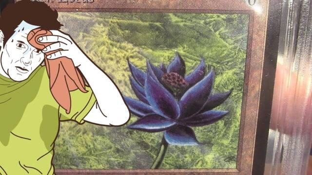 Magic: Un coleccionista abre sin querer un sobre clásico y le sale una Black Lotus