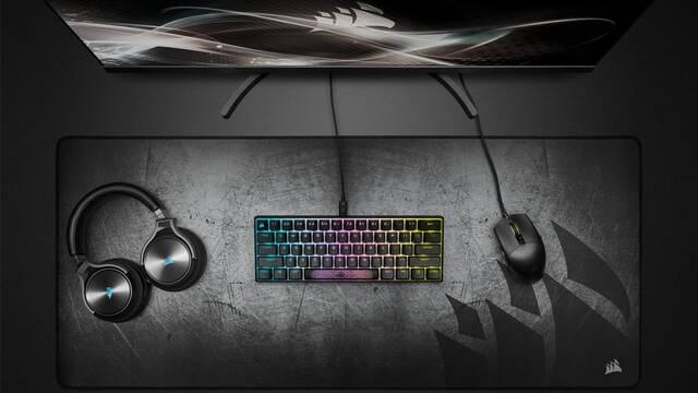 Corsair estrena su nuevo teclado mecánico para jugar en miniatura: K65 RGB Mini