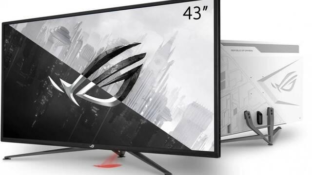 ASUS presenta su nuevo monitor para jugar XG43UQ a 4K y 144 Hz