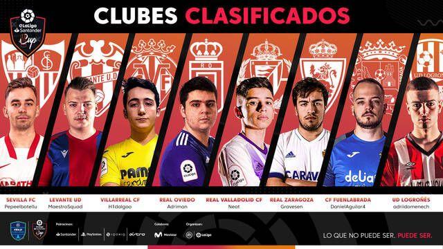 Llega eLaLiga Santander Cup, la antesala de la Gran Final de eLaLiga Santander