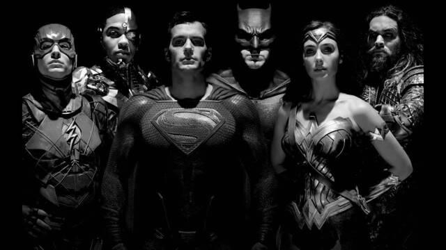 'La Liga de la Justicia de Zack Snyder' en blanco y negro ya está disponible