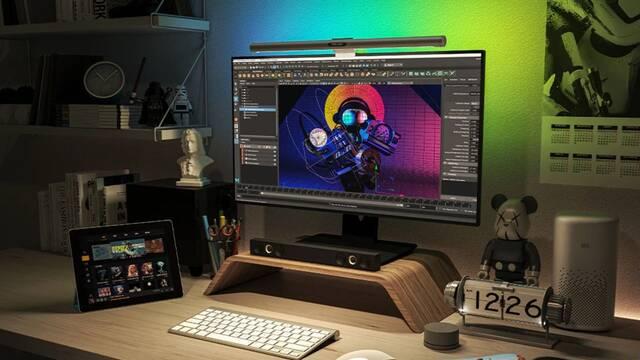 Yeelight Light Bar Pro es una lampara para Gamers con iluminación LED RGB