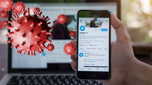 Twitter presenta un sistema para bloquear cuentas de negacionistas del coronavirus