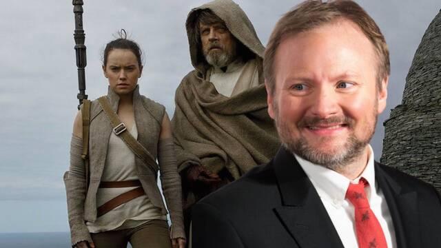 Star Wars: Rian Johnson no sabía qué sucedería con el Episodio 9 cuando rodaba su película