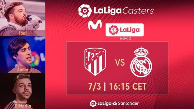 Ibai, DjMaRiiO y Ander comentarán en TV el Atleti vs Real Madrid