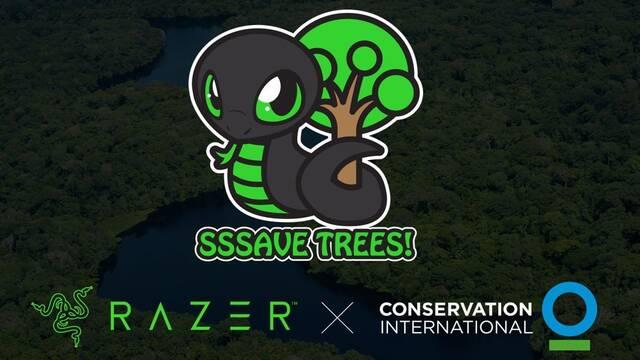 Razer presenta la campaña Sneki Snek para salvar un millón de árboles