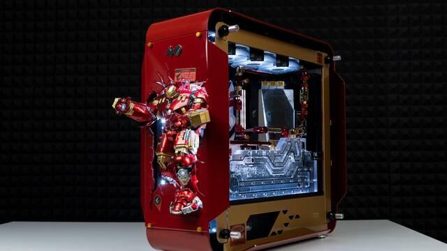El PC Modding de los viernes: Iron Man y su armadura Hulkbuster