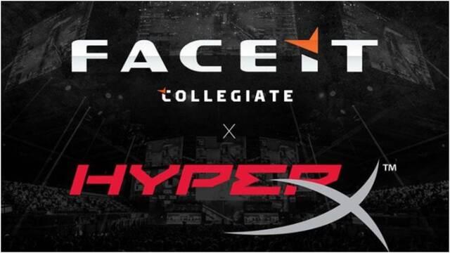 HyperX patrocinará las competiciones universitarias de Faceit