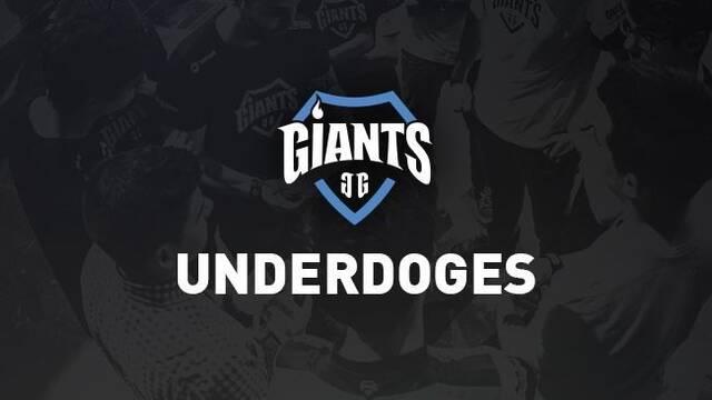 Giants Gaming realiza cambios en su equipo español