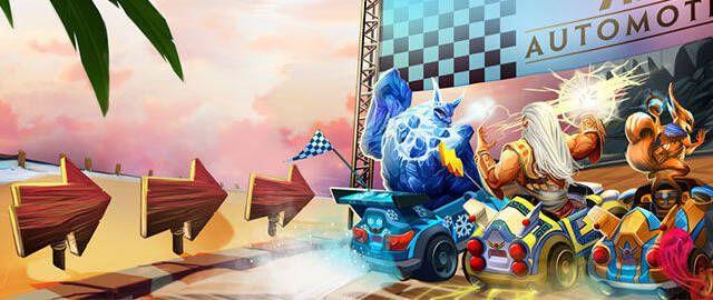 SMITE se convierte en Mario Kart gracias a su nuevo modo de carreras de karts