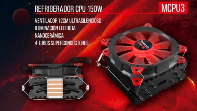 Mars Gaming presenta sus nuevos refrigeradores MCPU117 y MCPU3