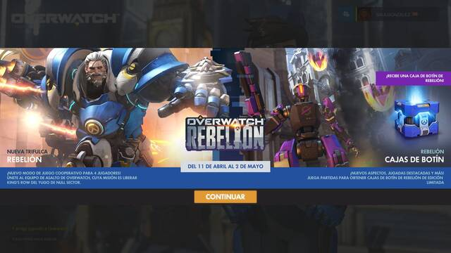 Overwatch: Rebelión ya está disponible y estas son sus 10 skins