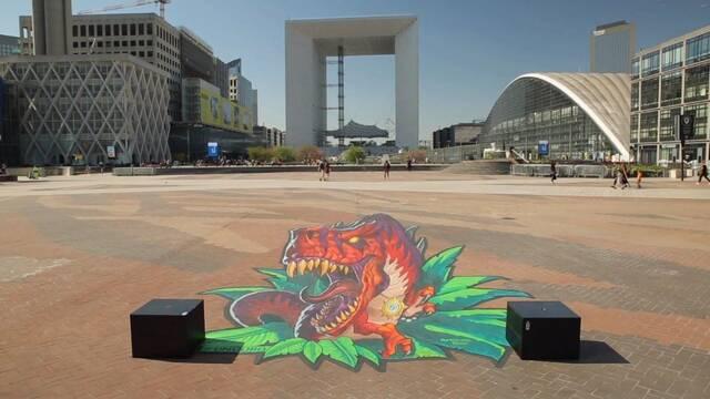 Así es el increíble arte urbano con el que Blizzard ha promocionado Viaje a Un'Goro en París