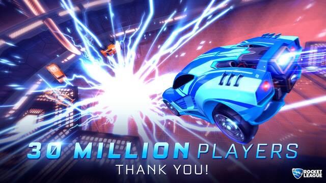 Rocket League logra superar los 30 millones de jugadores en todo el mundo