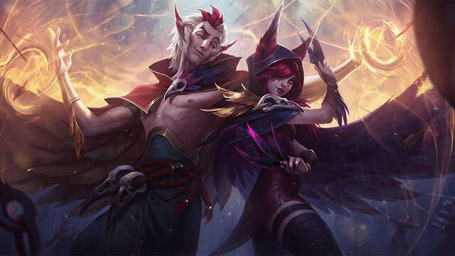Xayah y Rakan ya están disponibles en League of Legends