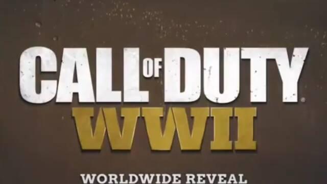 Call of Duty: WWII: Primer vídeo, primeras imágenes y nueva información