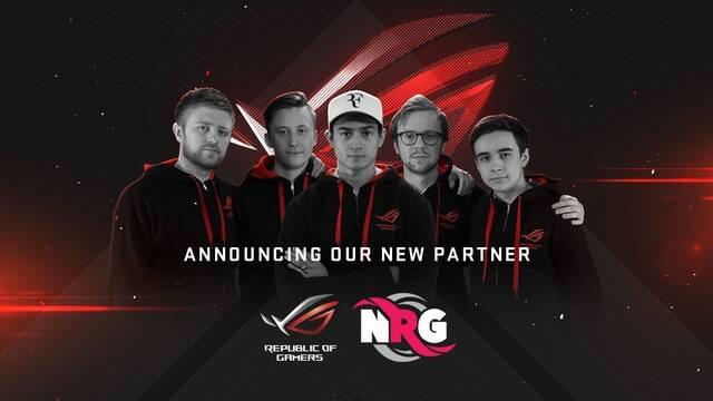 ASUS Republic of Gamers se convierte en patrocinador principal de NRG
