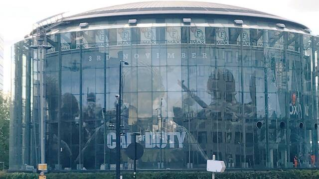 Dos enormes murales promocionan Call of Duty: WWII antes de su presentación oficial