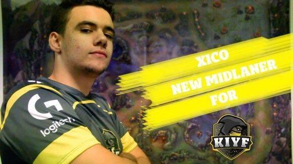 Xico se convierte en el nuevo midlaner del equipo de League of Legends de KIYF Esports
