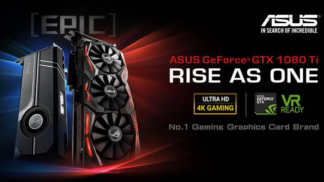 ASUS ROG presenta su nueva tarjeta gráfica Strix GeForce GTX 1080 Ti