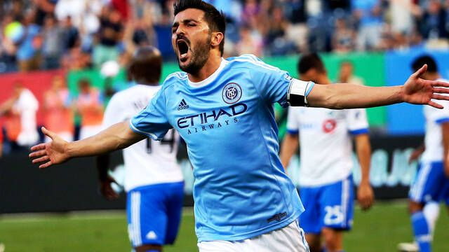 El New York City CF, el club en el que juega David Villa, entra en los esports