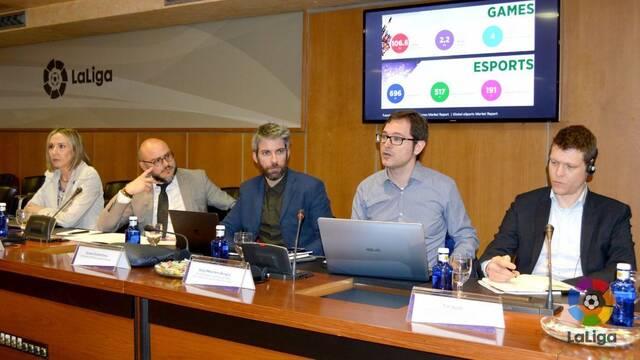 La Fundación de La Liga acoge una jornada centrada en los esports
