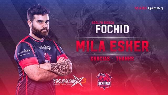 Fochid no continuará siendo el entrenador de ThunderX3 Baskonia