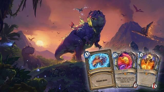 Ya puedes jugar a la expansión 'Viaje a Un'Goro' Para Hearthstone