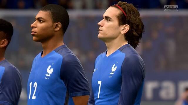 La Federación Francesa de Fútbol lanza su equipo de FIFA 18
