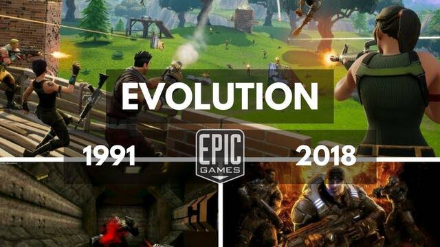 La evolución gráfica de Epic Games: De ZZT a Fortnite Battle Royale