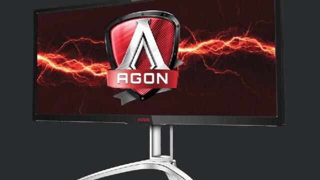 """AOC lanza un monitor curvo de 35"""" con una tasa de refresco de 120Hz"""
