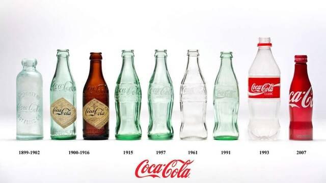 Explicado el origen de las curvas de la botella de Coca-Cola
