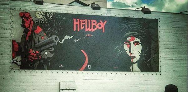 Milla Jovovich comparte el primer banner del reboot de Hellboy