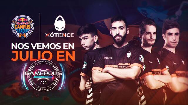 x6tence estará en la Red Bull Campus League de Rocket League