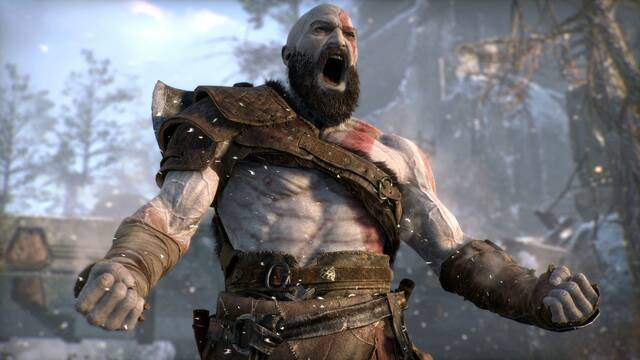 Así rinde God of War en PS4 y PS4 Pro