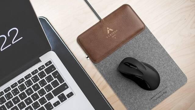 """MousePad+, la alfombrilla """"portátil"""" con cargador inalámbrico"""