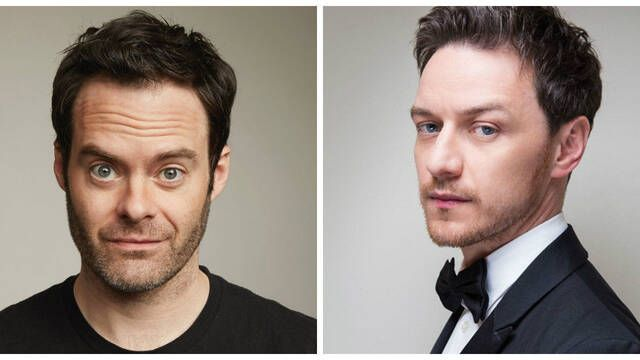 Bill Hader y James McAvoy en conversaciones para la secuela de 'It'